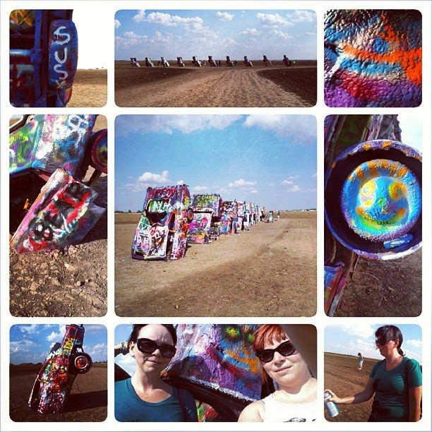 Day 8: Cadillac Ranch, Amarillo, Texas
