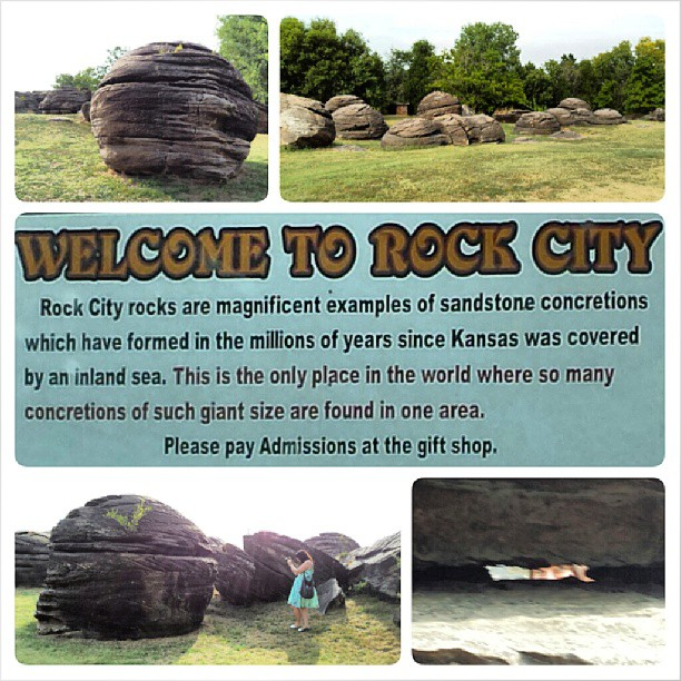 Rock City Park, Minneapolis, Kansas